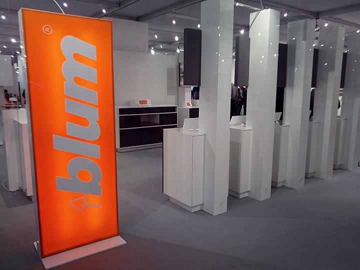 Стенд компании Blum