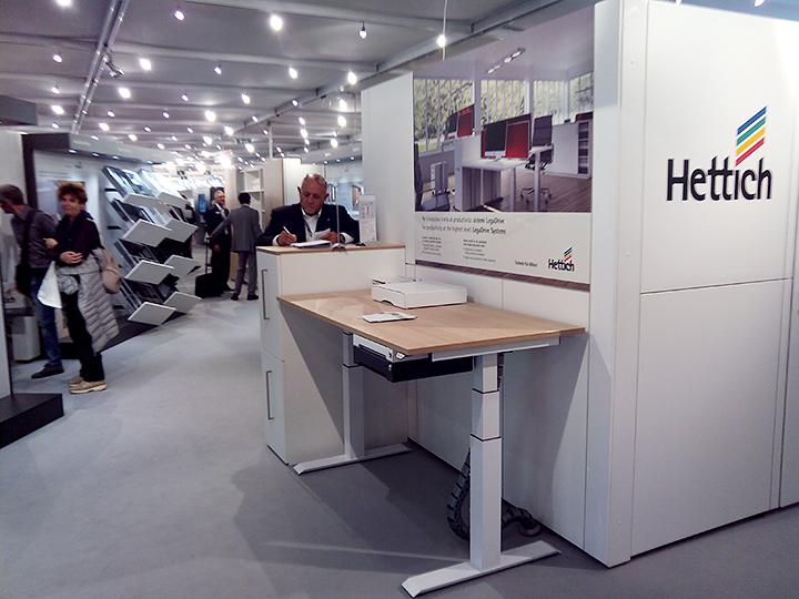 Стенд на выставке компании Hettich