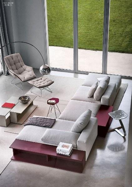 Диван Scott от итальянских дизайнеров Ludovica и Roberto Palomba
