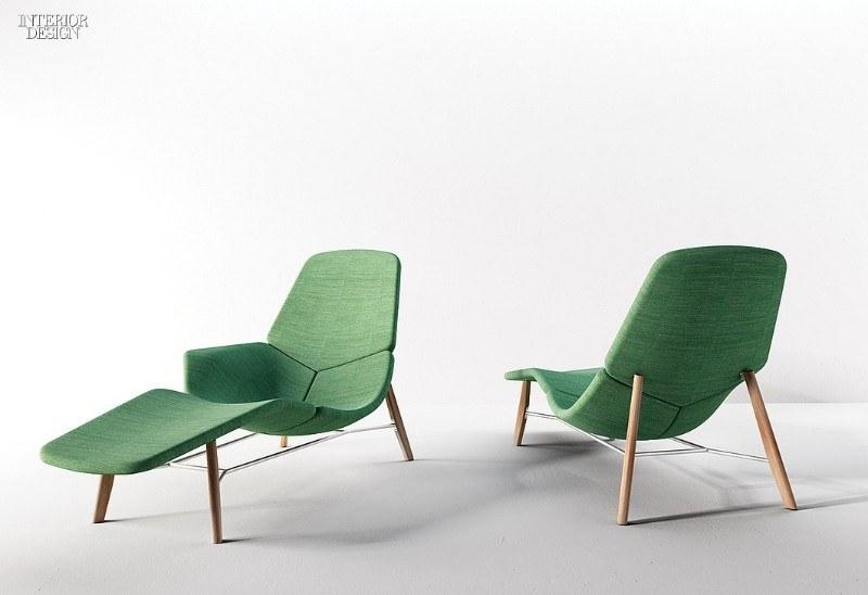 Шезлонг Аттол от французского дизайнера Patrick Norguet