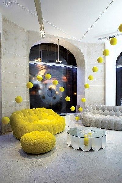 Диван Bubble от французского дизайнера Sasha Lakis