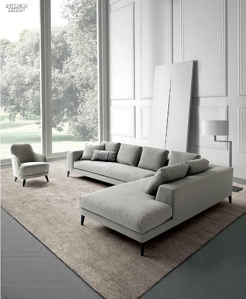 Диван от дизайнера Castello Lagravinese