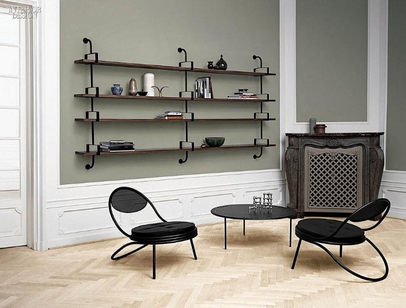 Кофейный столик и стулья (Mathieu Matégot)