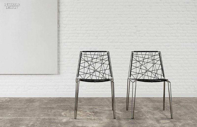 Дизайнерские металлические стулья