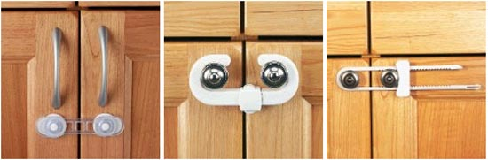 Различные средства блокировки дверей