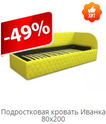 Подростковая кровать Иванка