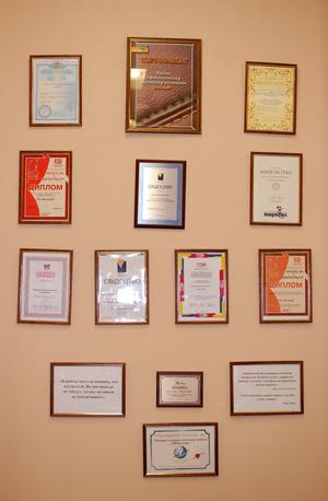 Сертификаты официального дилера мебели МебельОК