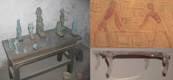 Письменный стол в Древнем Египте