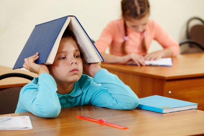 Отсутствие внимания на уроке