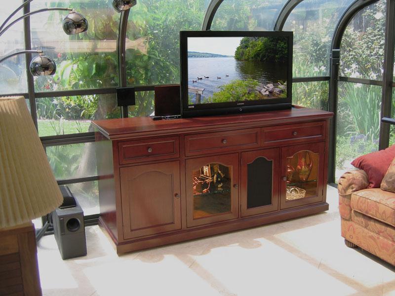 Комод со встроенным телевизором