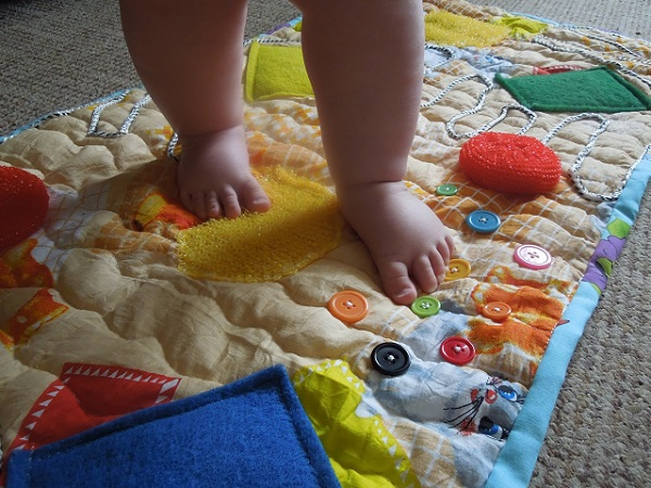 Детский ватный матрас