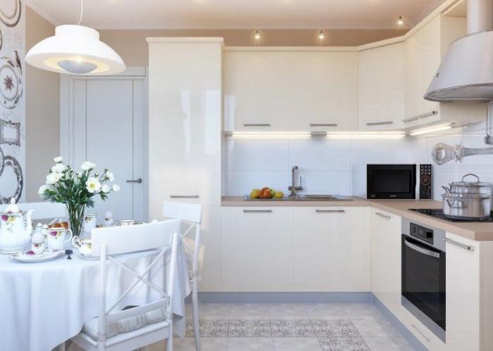 белая кухня возможность выделиться какие подводные камни несёт
