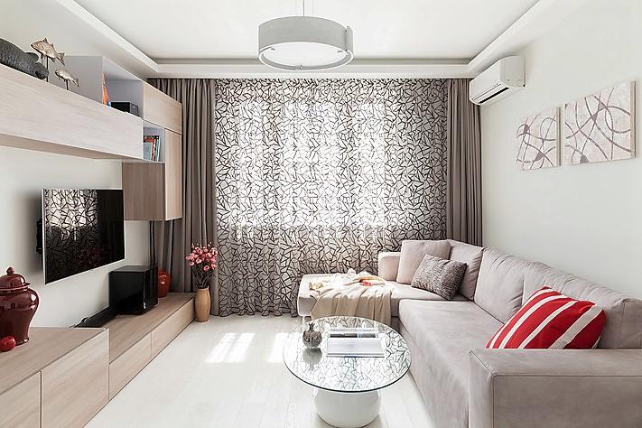 Идеи интерьера для маленькой гостиной фото