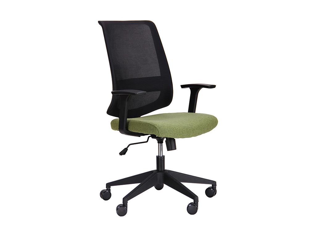 Кресло Carbon LB черный/зеленый