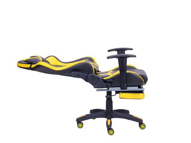 Геймерское креслоVR Racer BattleBee разложенное