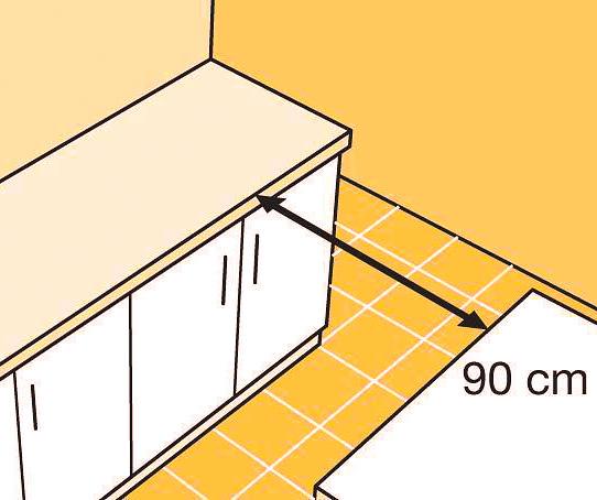 Кухонный гарнитур и обеденный стол