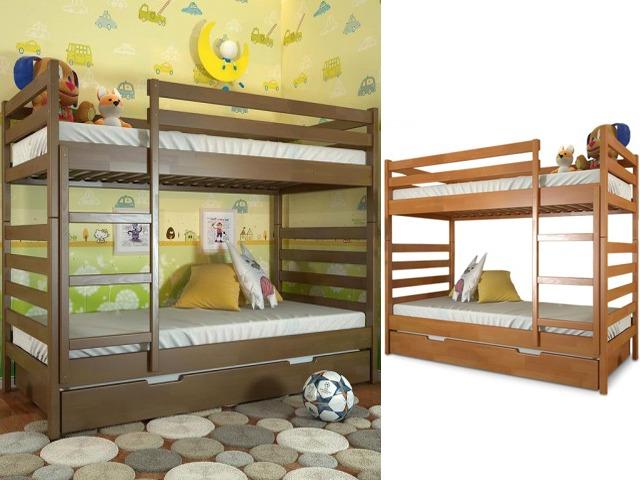 двухяруанся кровать с выдвижным спальным местом