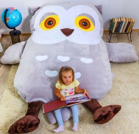 Бескаркасная детская кровать
