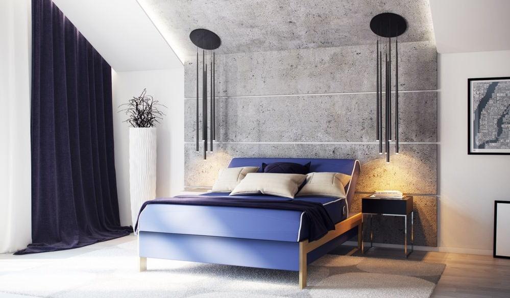 Кровать Дизи в интерьере спальни
