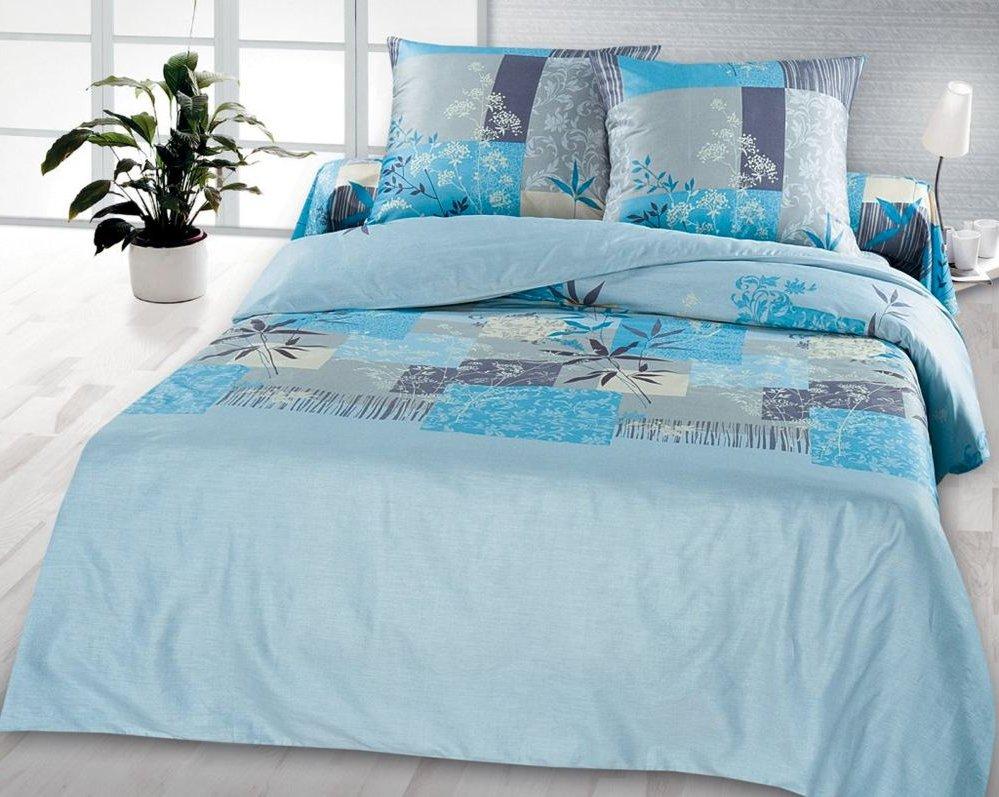 Постельное белье голубого цвета