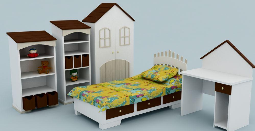 Мебель для сюжетных игр в садике