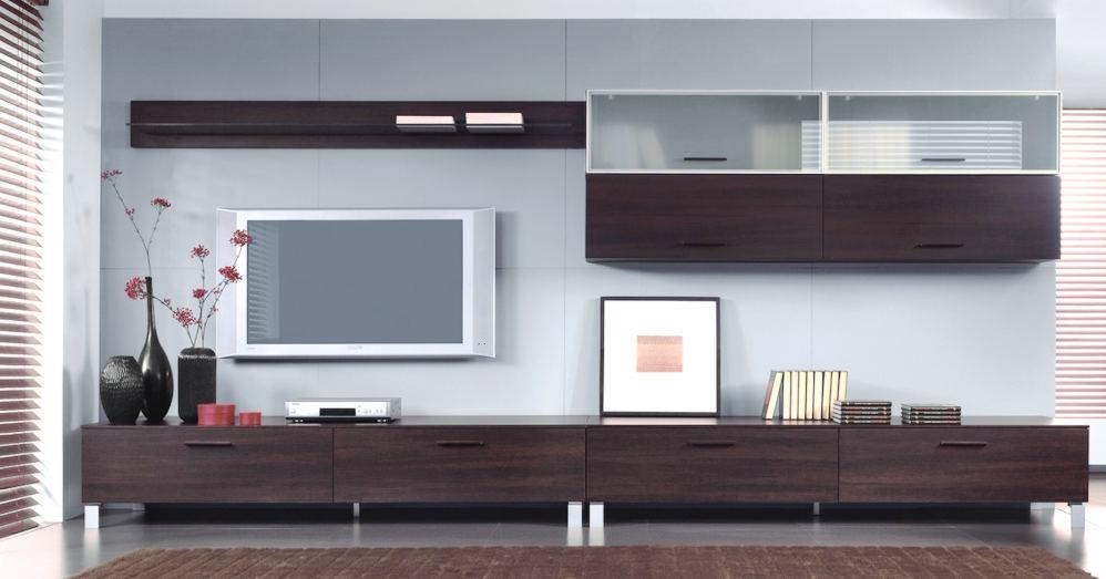 Модульная система в гостиной