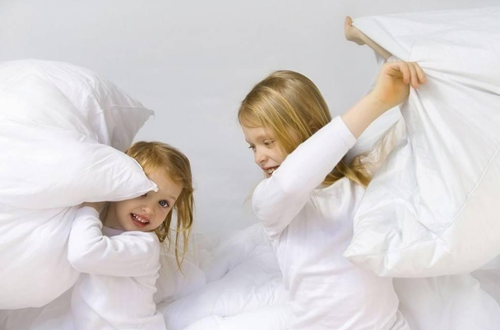 Детские игры подушками