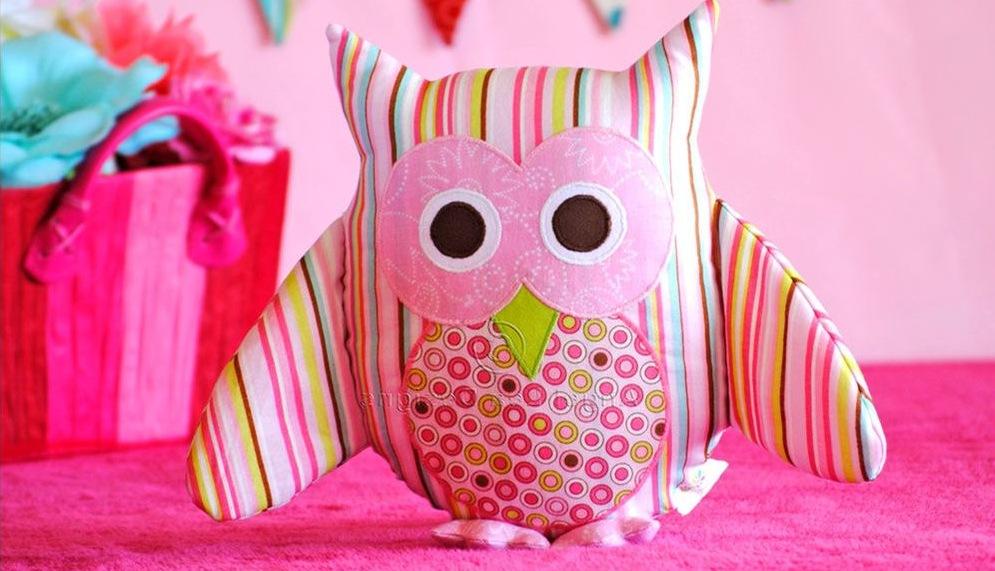 Декоративная подушка игрушка в животного
