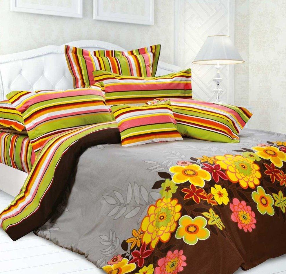 Разноцветное постельное белье