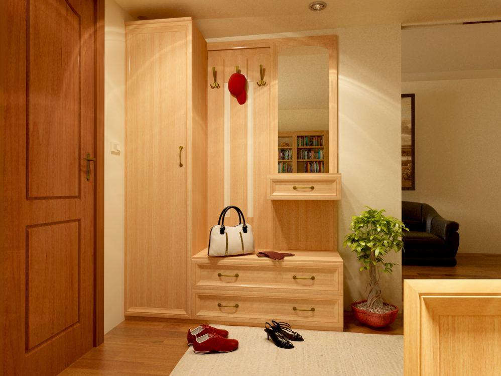 интерьер прихожей с мебелью фото 77514