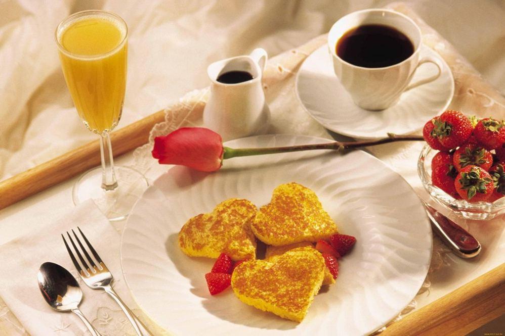 Слолик для сніданку в ліжко