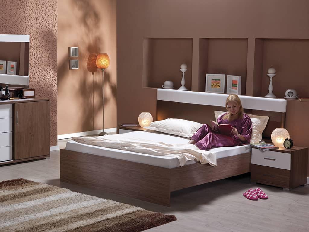 Атмосфера чистоты и порядка в спальне Айлем