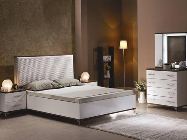 Спальный гарнитур мода с кроватью с мягким изголовьем
