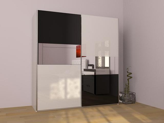 Шафа-купе: оригінальне рішення для розподілу простору кімнати