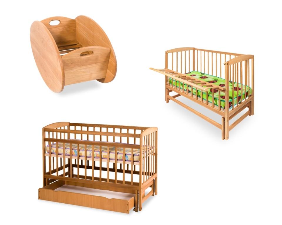 Детские кроватки и колыбель