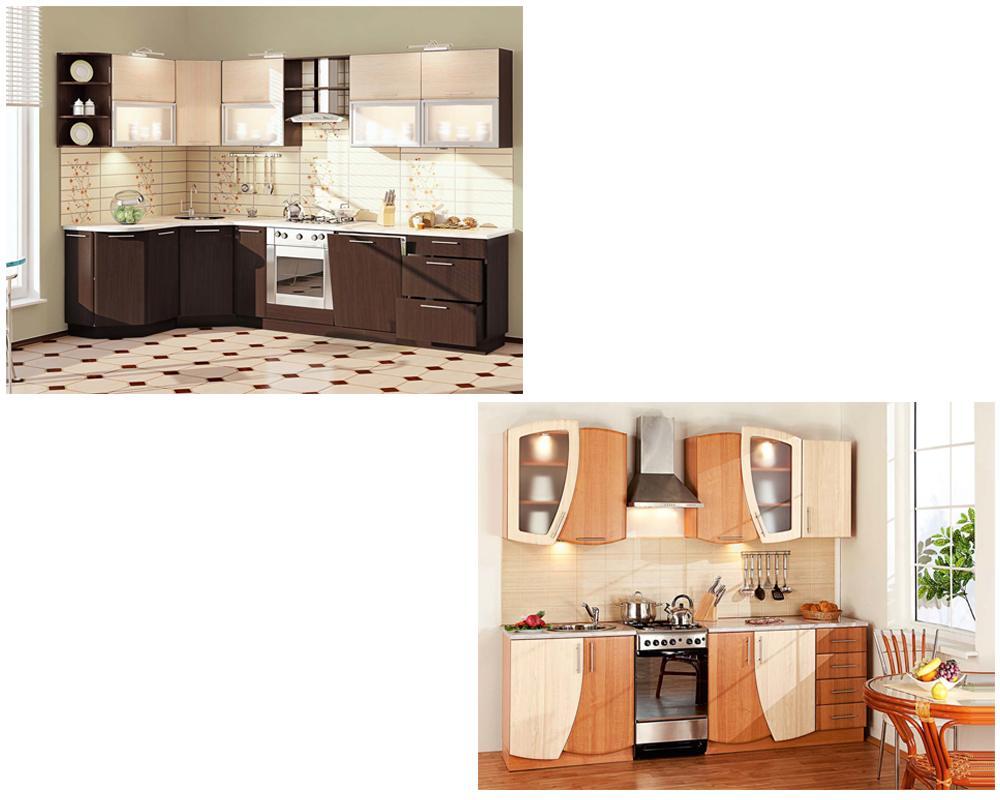 Кухонные гарнитуры Комфорт Мебель