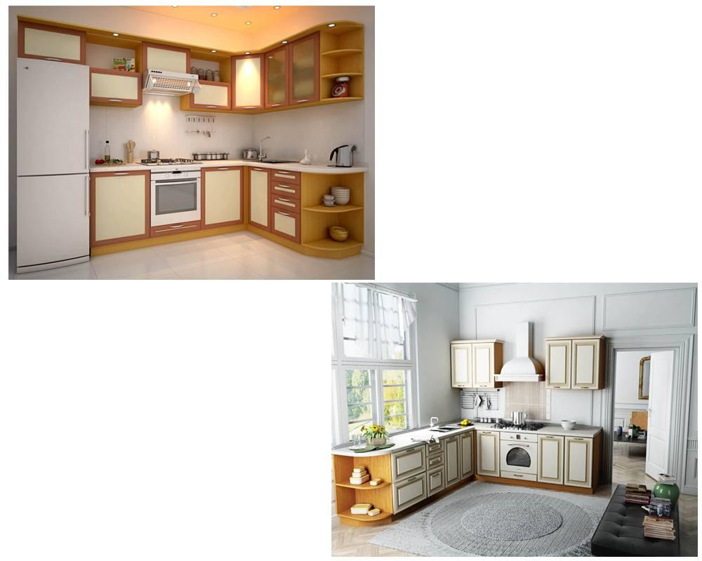 Угловые кухонные гарнитуры