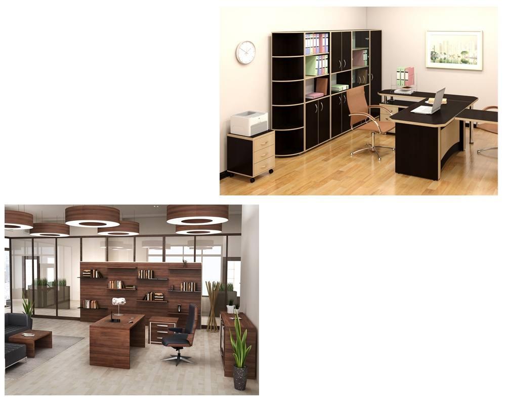 Мебель модульная для офиса