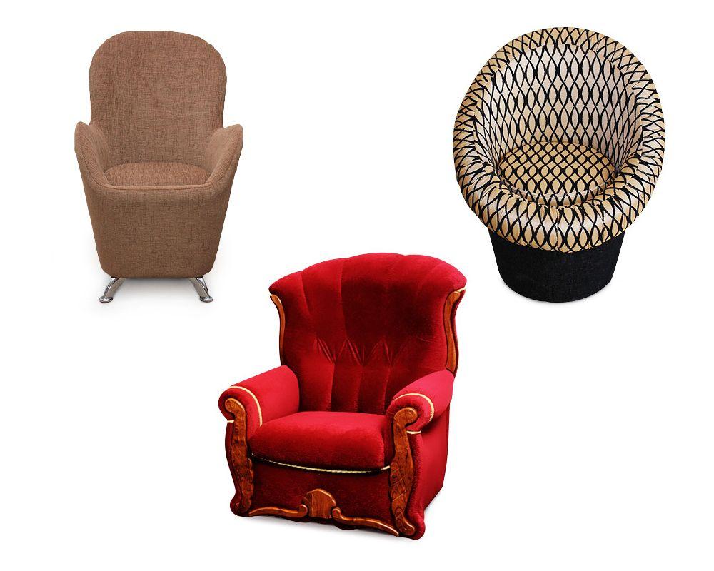 Кресла мягкие фабрики Катунь