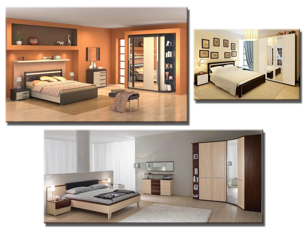 Модульная мебель в спальню
