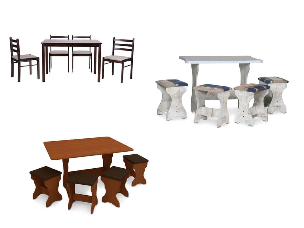 Комплект стола и стульев для кухни в Интернет-магазине МебельОК