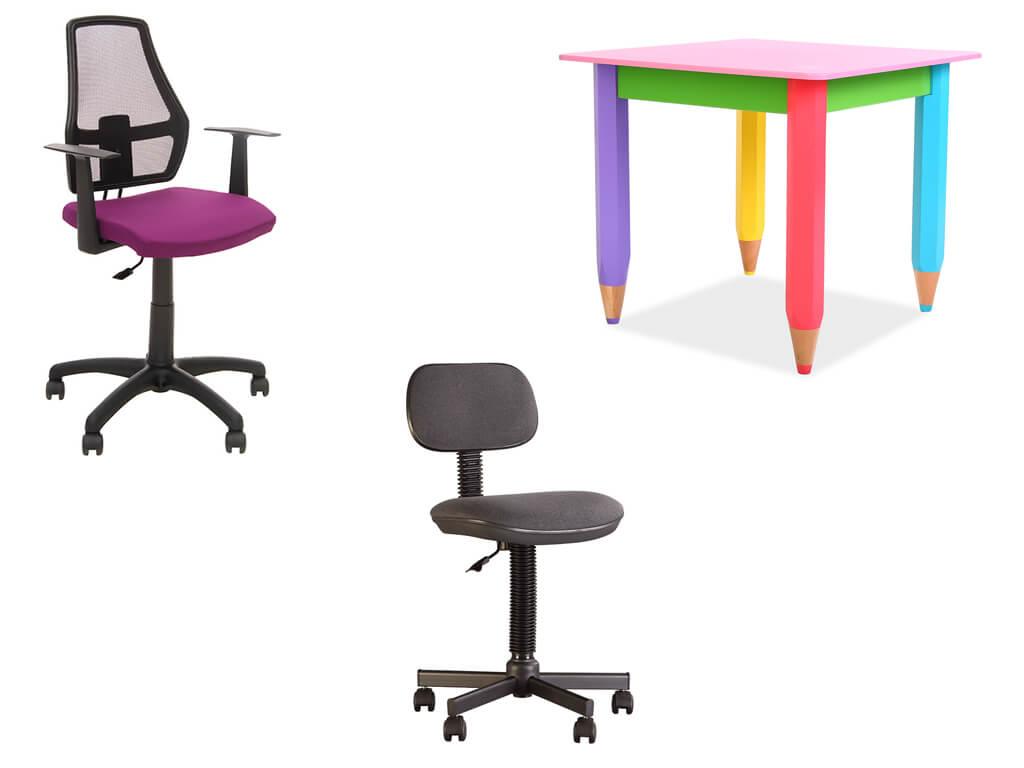 Стол и стульчик в детскую комнату