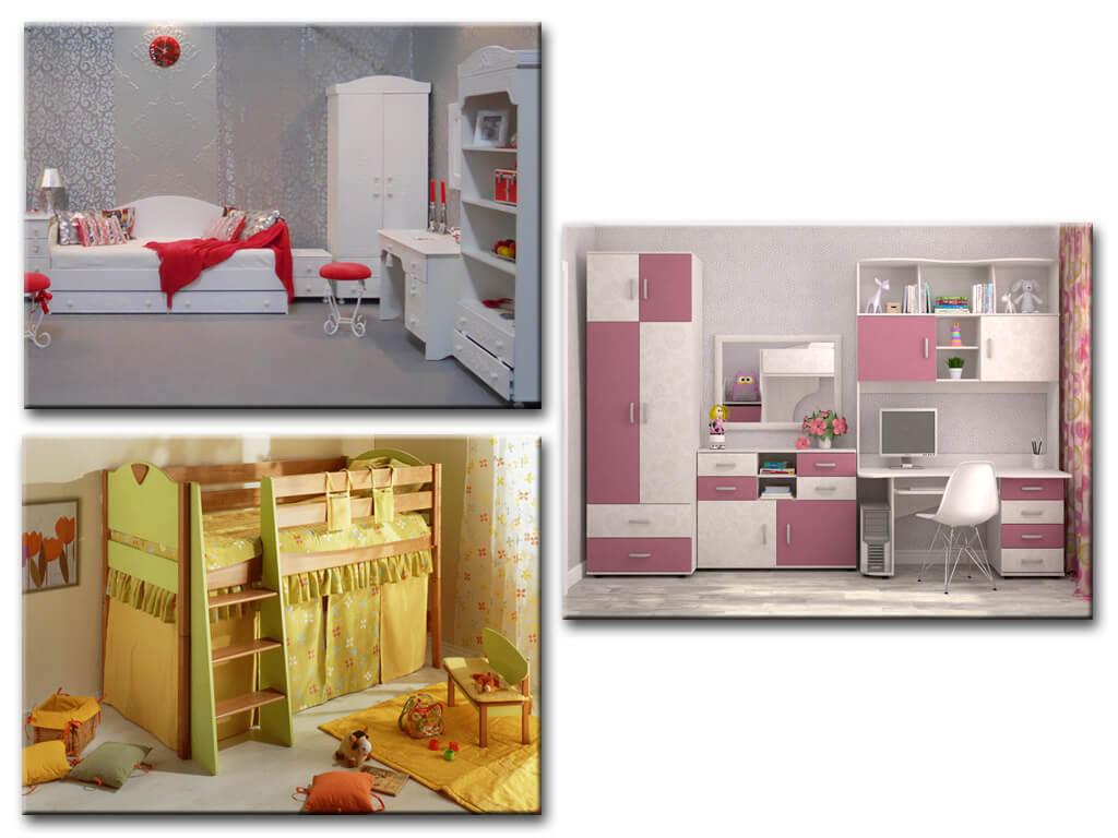 Мебель в комнату для девочки