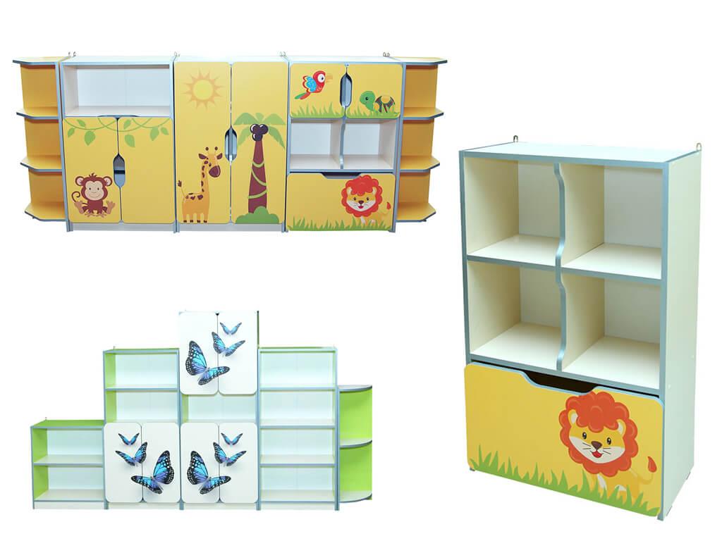 Стенки для детского сада