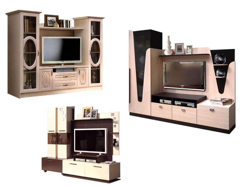 Мебельные стенки под телевизор