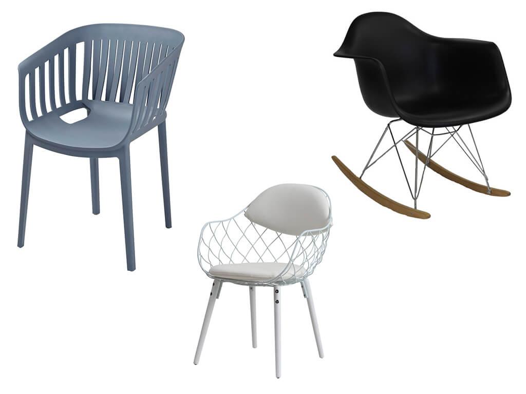 Пластиковые кресла в интернет-магазине МебельОК