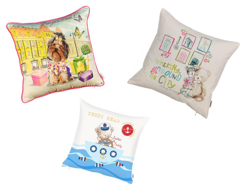 Стильные детские подушки в МебельОК