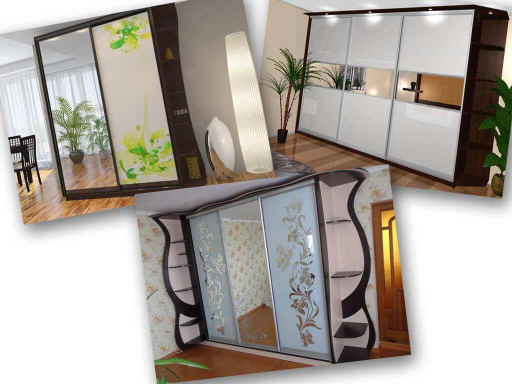 Шкафы-купе на заказ от мебельок
