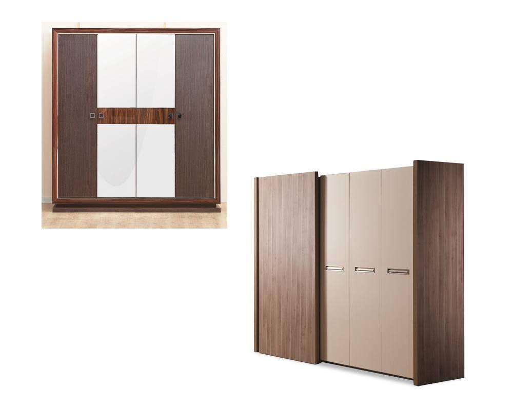 Шкафы-купе на четыре двери