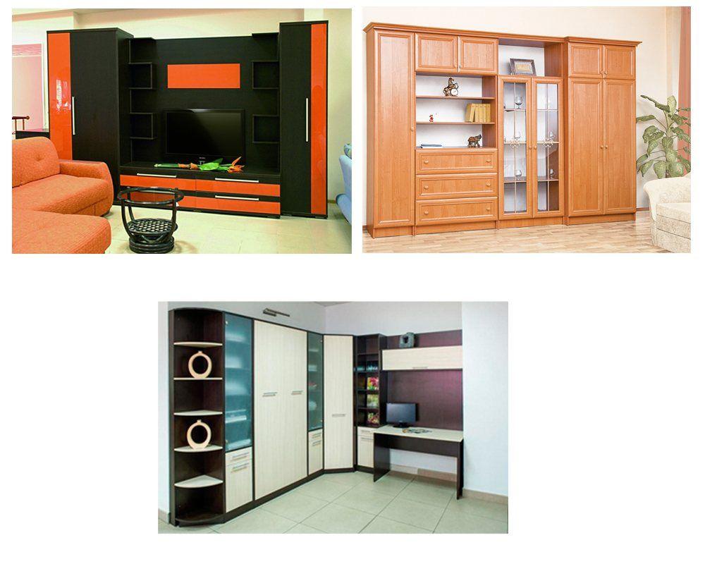 Мебельные стенки для дома
